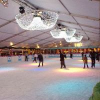 Happy Holidays ice rink
